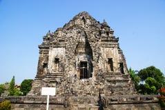 Templo de Kalasan foto de archivo