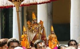 Templo de Kanchipuram Foto de archivo