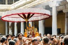 Templo de Kanchipuram Fotografía de archivo