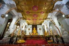 Templo de Kandy de la reliquia del diente del señor foto de archivo libre de regalías