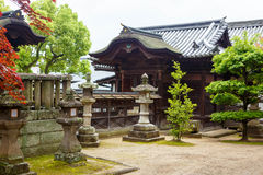 Templo de Kanryuji em Kurashiki, Japão fotos de stock