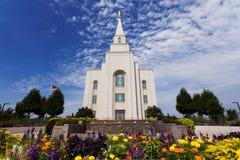 Templo de Kansas City en un día soleado Imagen de archivo libre de regalías