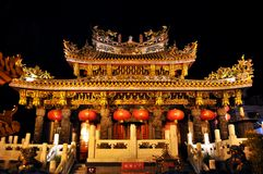 Templo de Kanteibyo en Yokohama Chinatown Tokio Japón fotos de archivo