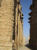 Templo de Karnak Imágenes de archivo libres de regalías