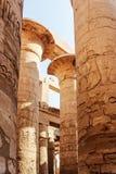 Templo de Karnak fotos de stock royalty free