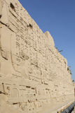 Templo de Karnak imagens de stock