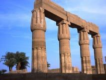 Templo de Karnak em Egipto Fotografia de Stock Royalty Free
