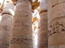 Templo de Karnak em Luxor fotografia de stock royalty free