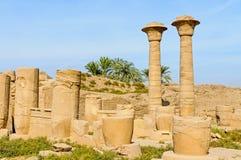 Templo de Karnak em Luxor, Egipto. fotos de stock royalty free