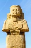 Templo de Karnak em Luxor, Egipto. imagens de stock royalty free