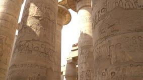 Templo de Karnak en Luxor, Egipto metrajes