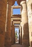 Templo de Karnak en Luxor, Egipto fotografía de archivo