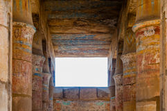 Templo de Karnak en Luxor, Egipto. Imagen de archivo