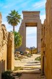 Templo de Karnak en Luxor, Egipto. Foto de archivo libre de regalías