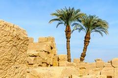 Templo de Karnak en Luxor, Egipto. Fotos de archivo libres de regalías