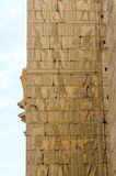 Templo de Karnak en Luxor, Egipto, detalle Fotografía de archivo