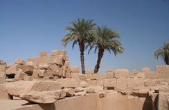 Templo de Karnak, Luxor Fotos de Stock