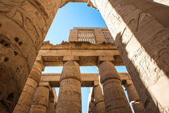 Templo de Karnak, Luxor, Egipto Foto de archivo libre de regalías
