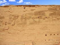 Templo de Karnak (Thebes) en Luxor Egipto Imagen de archivo libre de regalías