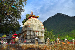 Templo de Kashi Vishwanath em Uttarkashi, Uttarakhand Imagens de Stock
