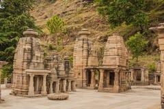 Templo de Katarmal Sun, perto de Almora imagens de stock royalty free