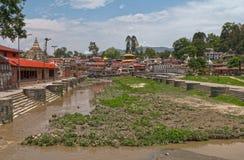 Templo de Katmandu Nepal Fotos de archivo libres de regalías