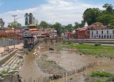 Templo de Katmandu Nepal Imagen de archivo