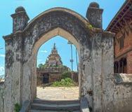 Templo de Katmandu Nepal Imagenes de archivo