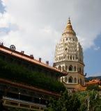 Templo de Kek Lok Si fotos de archivo