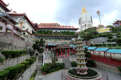 Templo de Kek Lok Si, Penang, Malaysia foto de stock