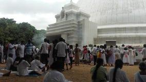 Templo de Kelaniya Imagens de Stock