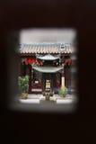 Templo de Keng del vino del Rin de Thian, Singapur Fotografía de archivo