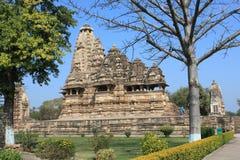 Templo de Khajuraho Imagens de Stock Royalty Free