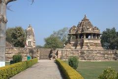 Templo de Khajuraho Fotografia de Stock Royalty Free