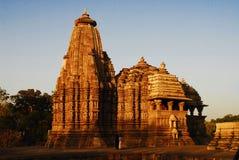 Templo de Khajuraho Imagem de Stock Royalty Free