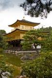 Templo de Kinkaku-Ji Imagen de archivo libre de regalías