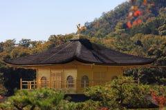 Templo de Kinkaku-Ji Imagens de Stock Royalty Free