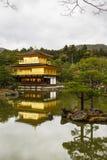 Templo de Kinkaku-Ji em Kyoto Fotos de Stock