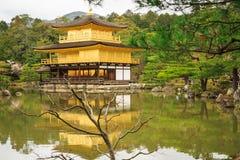Templo de Kinkaku-Ji em Kyoto Fotografia de Stock