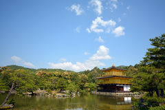 Templo de Kinkakuji Fotografia de Stock