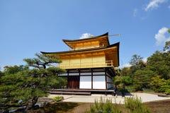 Templo de Kinkakuji Foto de Stock