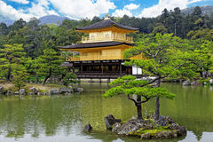 Templo de Kinkakuji Imagem de Stock