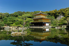 Templo de Kinkakuji Fotos de Stock Royalty Free