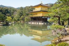Templo de Kinkakuji en Kyoto, Japón Imagen de archivo