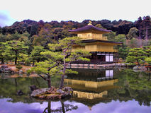 Templo de Kinkakuji, Kyoto Imagem de Stock Royalty Free