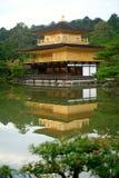 Templo de Kinkakuji (o pavilhão dourado) em Japão Fotografia de Stock