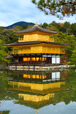 Templo de Kinkakuji (reflexão) foto de stock royalty free