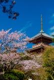 Templo de Kiyomizu Foto de archivo