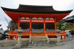 Templo de Kiyomizu Imagen de archivo libre de regalías