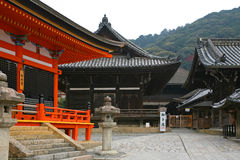 Templo de Kiyomizu-dera Imagenes de archivo